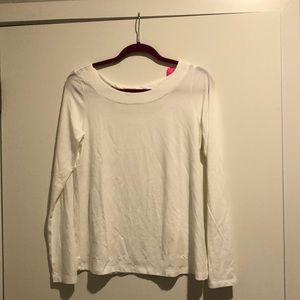 White Lilly Pulitzer shirt